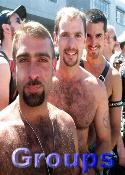Click here for galleries of groups of guys with hairy faces